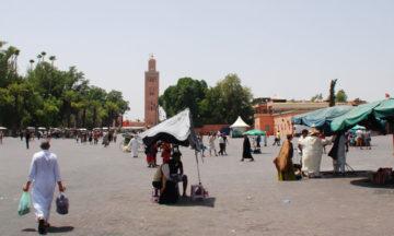 marrakech square djemaa el Fna